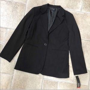 NWT Raffaella Black Blazer Jacket 12